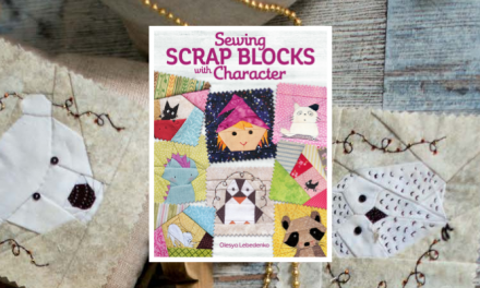 From Kyiv to Canada, One Artist's Amazing Journey Brings Hope and a New Sewing Book
