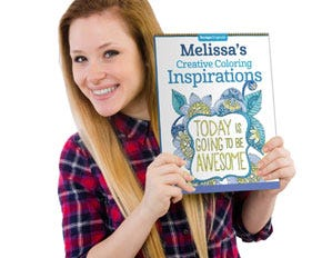Personalized Creative Coloring Inspirations Coloring Book (Today is Going to be Awesome)