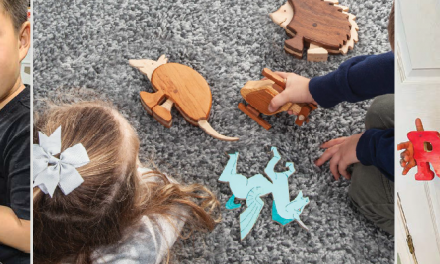 Scroll Saw Magazine Reminds Us to Take Time to Play