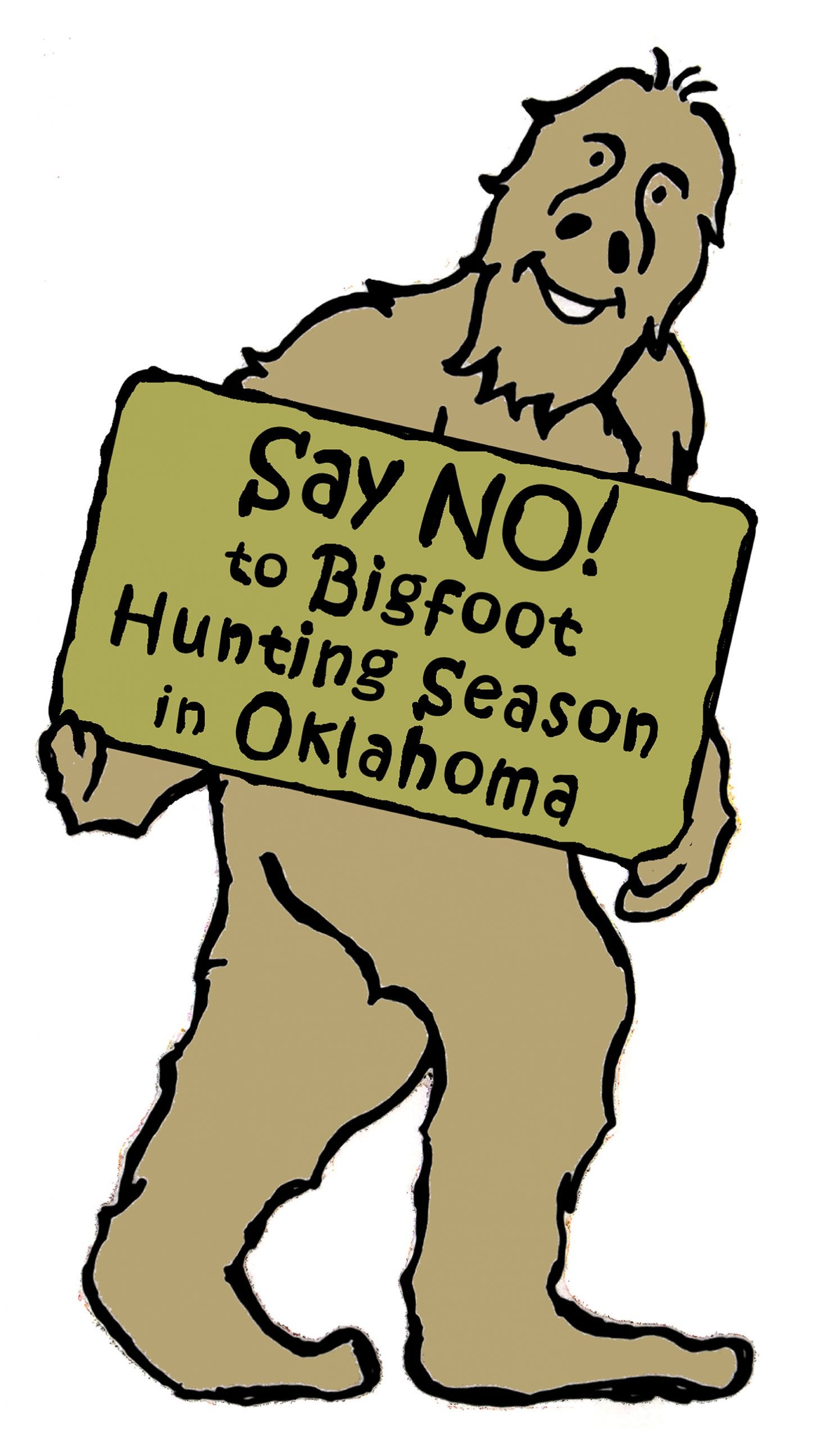 BigFoot Visits the Big Cities of the World - Another BigFoot Sighting