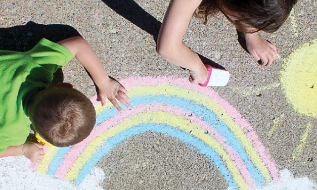 Art Project For Kids: How to Make Sidewalk Chalk